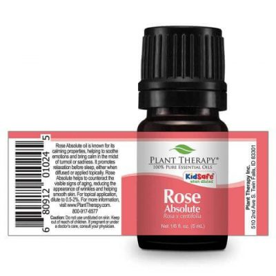 Plant Therapy Rose Absolute Essential Oil Stretch