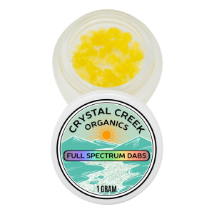 CBD Dabs by Crystal Creek Organics
