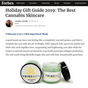 CBD Superfood Face Mask Holiday Gift Feature