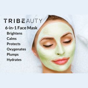 CBD Superfood Face Mask 6-in-1 benefits list