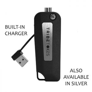 Saber 510 Vape Battery with charger displayed