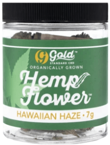 Gold Standard Hemp Flower - Hawaiian Haze 7g Jar