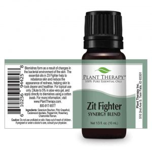 Plant Therapy Zit Fighter Stretch label